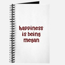 happiness is being Megan Journal