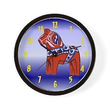 The Swedish Horse Wall Clock