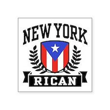 "Cute Puerto rican boy Square Sticker 3"" x 3"""