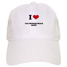 I love Old Orchard Beach Maine Baseball Cap
