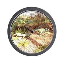 Little Monsters Day Out Wall Clock
