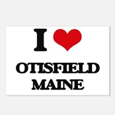 I love Otisfield Maine Postcards (Package of 8)