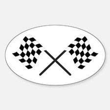 Racing Flags Decal