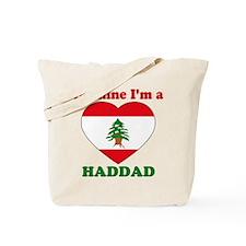 Haddad, Valentine's Day Tote Bag