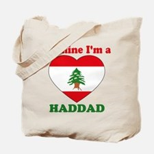 Haddad, Valentine's Day Tote Bag