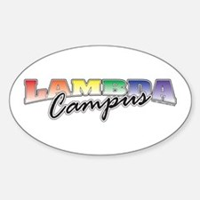 Campus Pride Oval Decal