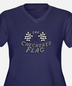 The Checkered Flag Plus Size T-Shirt