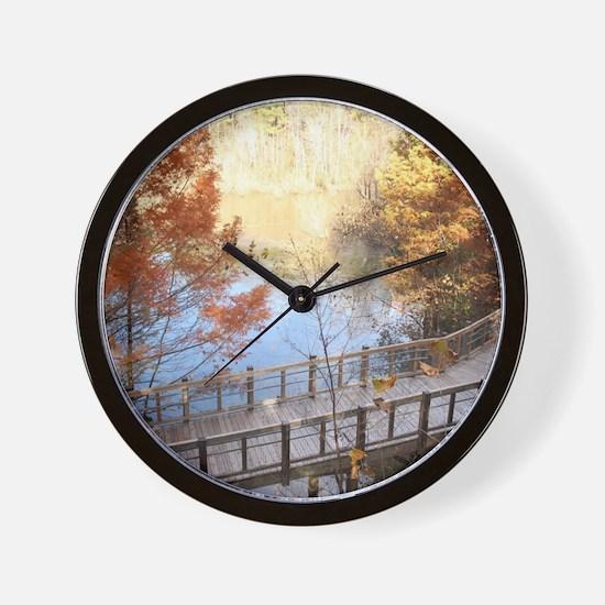 The Golden Path Below Wall Clock. Kohls Clocks   Kohls Wall Clocks   Large  Modern  Kitchen Clocks