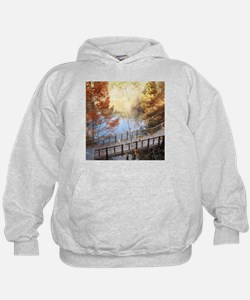 The Golden Path Below Hoodie
