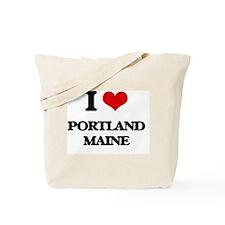 I love Portland Maine Tote Bag