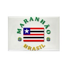 Maranhao Rectangle Magnet (100 pack)