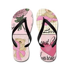 Hope! Love! Cure! Flip Flops
