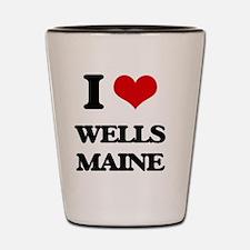 I love Wells Maine Shot Glass