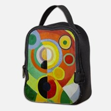 Colorful Abstract Painting Neoprene Lunch Bag