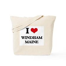 I love Windham Maine Tote Bag