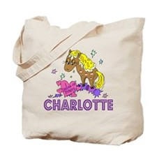 I Dream Of Ponies Charlotte Tote Bag