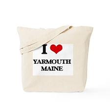 I love Yarmouth Maine Tote Bag