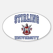 STIRLING University Oval Decal