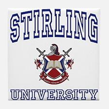 STIRLING University Tile Coaster