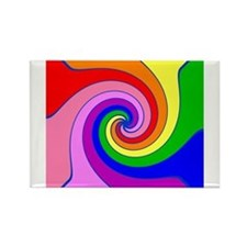 Cute Swirl Rectangle Magnet (10 pack)