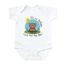 Clifford birthday (groundhog) Infant Bodysuit