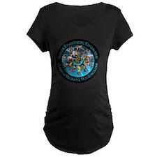 CRPS/RSD Awareness FIre & Ice le Maternity T-Shirt