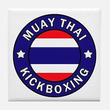 Muay Thai Tile Coaster