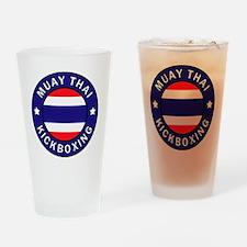 Muay Thai Drinking Glass