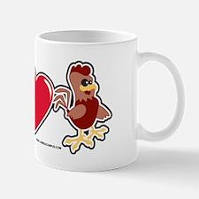 I Love Rooster Mug
