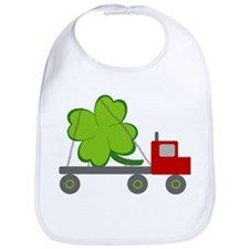 Cute Leprechaun st patricks Bib