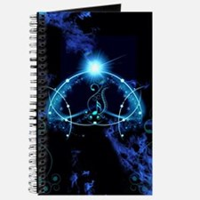 Clef with awesome light effects Journal