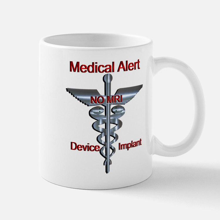 Medical Alert - Device Implant NO MRI Medic Mugs