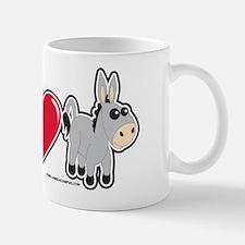 I Love Donkey Mug