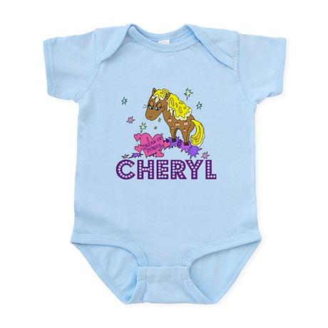 I Dream Of Ponies Cheryl Infant Bodysuit
