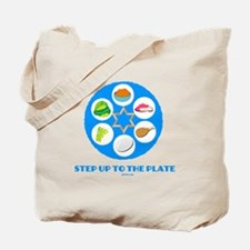 Step Up To Plate Passover Tote Bag