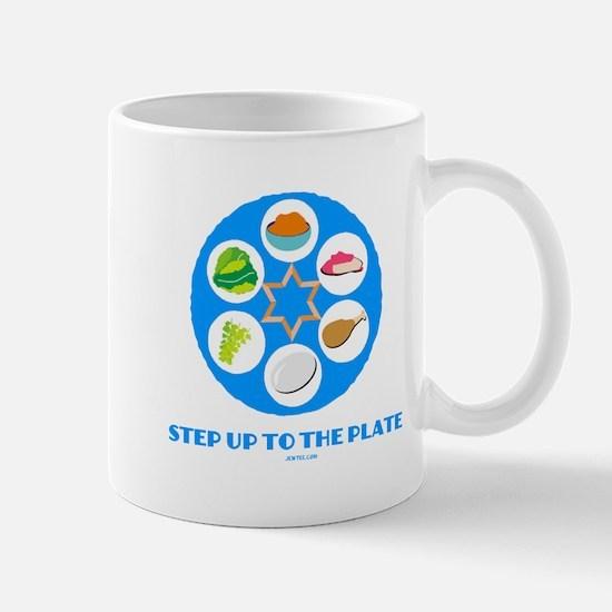 Step Up To Plate Passover Mug
