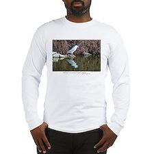 Black-crowned Night Heron Long Sleeve T-Shirt