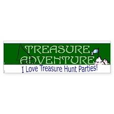 Treasure Adventure Bumper Bumper Sticker