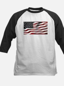 American Flag USA Baseball Jersey