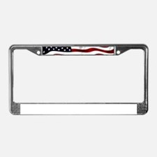 American Flag USA License Plate Frame