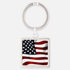 American Flag USA Keychains