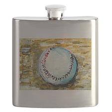 The Baseball Flask