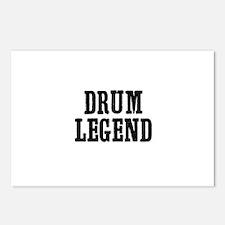 drum legend Postcards (Package of 8)