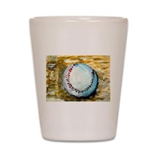 The Baseball Shot Glass
