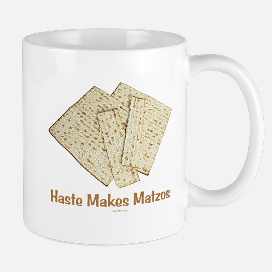 Haste Makes Matzoh Passover Mug
