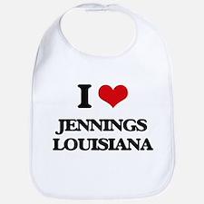 I love Jennings Louisiana Bib