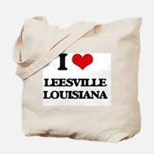 I love Leesville Louisiana Tote Bag