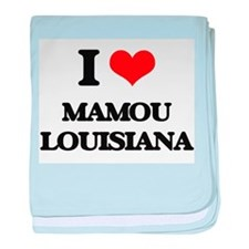 I love Mamou Louisiana baby blanket