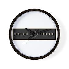 Warding Off Evil Spirits Wall Clock