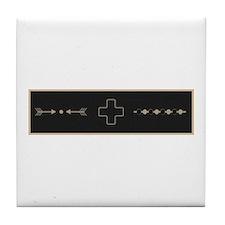 Warding Off Evil Spirits Tile Coaster